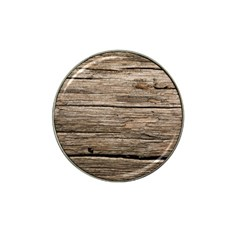 Weathered Wood Hat Clip Ball Marker (4 Pack) by trendistuff