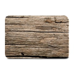 Weathered Wood Plate Mats by trendistuff