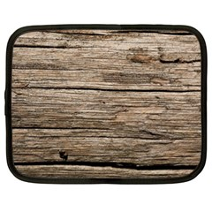 WEATHERED WOOD Netbook Case (XL)