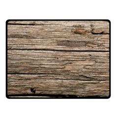 Weathered Wood Fleece Blanket (small) by trendistuff