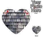 WEATHERED SHINGLE Playing Cards 54 (Heart)  Front - Diamond5