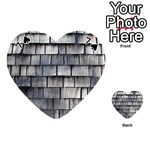 WEATHERED SHINGLE Playing Cards 54 (Heart)  Front - Spade7