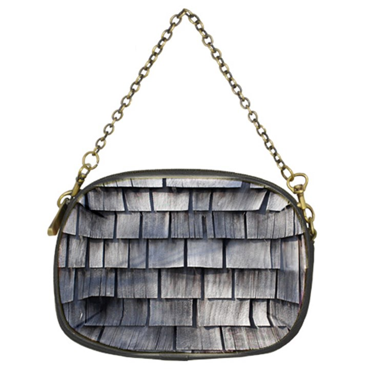 WEATHERED SHINGLE Chain Purses (Two Sides)