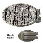 TREE BARK Money Clips (Oval)  Front