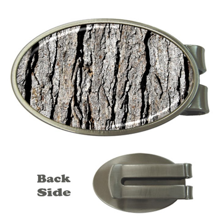 TREE BARK Money Clips (Oval)