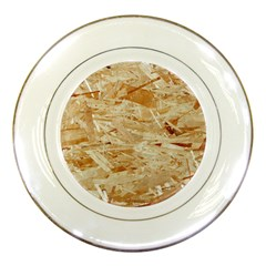 Osb Plywood Porcelain Plates by trendistuff