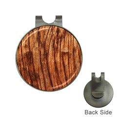 Old Brown Weathered Wood Hat Clips With Golf Markers by trendistuff