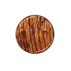 Old Brown Weathered Wood Hat Clip Ball Marker (4 Pack) by trendistuff