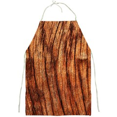 Old Brown Weathered Wood Full Print Aprons by trendistuff