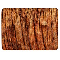 Old Brown Weathered Wood Samsung Galaxy Tab 7  P1000 Flip Case by trendistuff