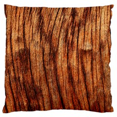 Old Brown Weathered Wood Standard Flano Cushion Cases (two Sides)  by trendistuff