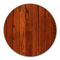 Oak Planks Round Mousepads by trendistuff