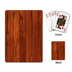 Oak Planks Playing Card by trendistuff