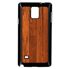 OAK PLANKS Samsung Galaxy Note 4 Case (Black) by trendistuff