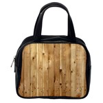 LIGHT WOOD FENCE Classic Handbags (One Side) Front