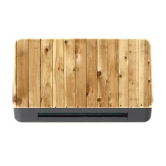 Light Wood Fence Memory Card Reader With Cf by trendistuff