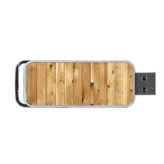 Light Wood Fence Portable Usb Flash (two Sides) by trendistuff