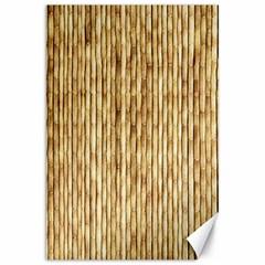Light Beige Bamboo Canvas 20  X 30   by trendistuff
