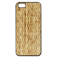Light Beige Bamboo Apple Iphone 5 Seamless Case (black) by trendistuff