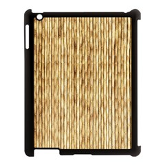 Light Beige Bamboo Apple Ipad 3/4 Case (black) by trendistuff