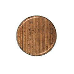 Knotty Wood Hat Clip Ball Marker by trendistuff