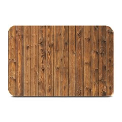 Knotty Wood Plate Mats by trendistuff