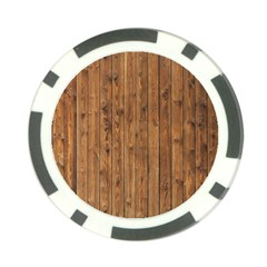 Knotty Wood Poker Chip Card Guards by trendistuff
