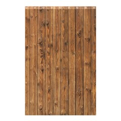 Knotty Wood Shower Curtain 48  X 72  (small)  by trendistuff