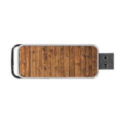 Knotty Wood Portable Usb Flash (two Sides) by trendistuff