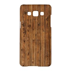 Knotty Wood Samsung Galaxy A5 Hardshell Case  by trendistuff