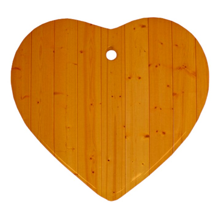 HONEY MAPLE Ornament (Heart)