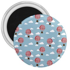 Hot Air Balloon 3  Magnets by Kathrinlegg