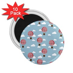 Hot Air Balloon 2 25  Magnets (10 Pack)  by Kathrinlegg