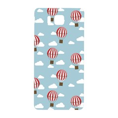 Hot Air Balloon Samsung Galaxy Alpha Hardshell Back Case by Kathrinlegg