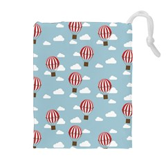 Hot Air Balloon Drawstring Pouches (extra Large)