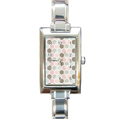 Spring Bee Rectangle Italian Charm Watches by Kathrinlegg