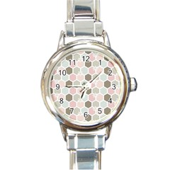 Spring Bee Round Italian Charm Watches by Kathrinlegg