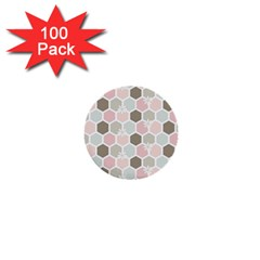 Spring Bee 1  Mini Buttons (100 Pack)  by Kathrinlegg