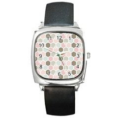 Spring Bee Square Metal Watches by Kathrinlegg