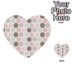 Spring Bee Multi Purpose Cards (heart)  by Kathrinlegg