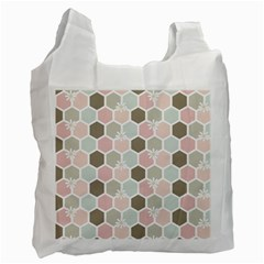 Spring Bee Recycle Bag (two Side)  by Kathrinlegg