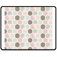 Spring Bee Fleece Blanket (medium)  by Kathrinlegg