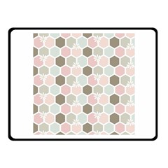 Spring Bee Fleece Blanket (small) by Kathrinlegg