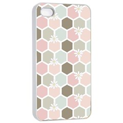 Spring Bee Apple Iphone 4/4s Seamless Case (white) by Kathrinlegg