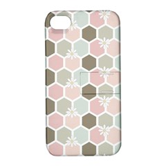 Spring Bee Apple Iphone 4/4s Hardshell Case With Stand by Kathrinlegg