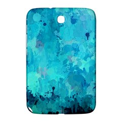 Splashes Of Color, Aqua Samsung Galaxy Note 8.0 N5100 Hardshell Case  by MoreColorsinLife