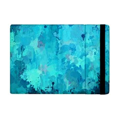 Splashes Of Color, Aqua Ipad Mini 2 Flip Cases by MoreColorsinLife