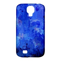 Splashes Of Color, Blue Samsung Galaxy S4 Classic Hardshell Case (pc+silicone) by MoreColorsinLife