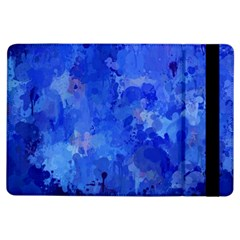 Splashes Of Color, Blue iPad Air Flip by MoreColorsinLife