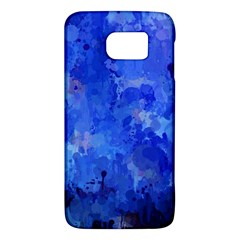 Splashes Of Color, Blue Galaxy S6 by MoreColorsinLife